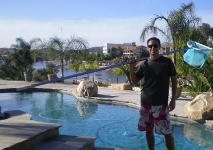 Laguna Niguel Pool Service Owner Jared Benson