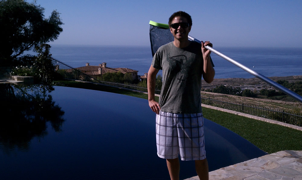 Jared Benson, Owner, Laguna Niguel Pool Service Company - Beachside Pool Service