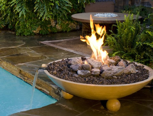 Fire And Water Features Are Hot